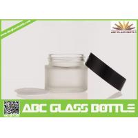 Cheap Wholesale 5/15/20/30ml Custom Cosmetic Cream Jar,Empty Glass Bottle With Screw Cap for sale