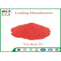 Quality Deep Dyeing Chemical Dyes C I Vat Red 29 Vat Scarlet R Vat Dyes And Pigments wholesale