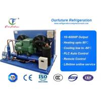 Air Cooled Bitzer Piston Condensing Commercial Refrigeration Units For Carrot Freeze Room