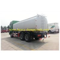 Quality 30cbm Fuel Tank Truck 6X4 336hp Drive EURO II Engine Green Chassis White Tank wholesale
