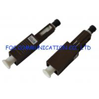 Quality FTTX Networks Fibre Optic Attenuator , Single Mode Fixed Optical Attenuator MU wholesale