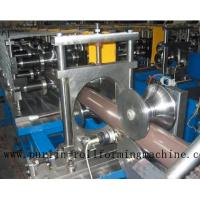 Quality Copper Portable Downspout Roll Forming Machine , Steel Roof Gutter Making Machine wholesale