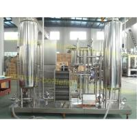 China Cola Carbonated Liquid Mixing Machine 0.2 - 0.5Mpa Working Pressure CO2 Mixer on sale