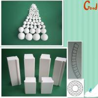 China Alumina lining bricks wear resistant linings for ball mill on sale