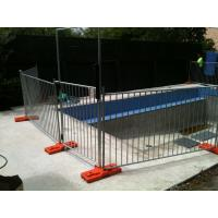 China Steel Swimming Pool Fence with Black Color, temporary steel fence panels for pools on sale