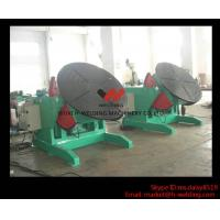 Quality 5 Ton High Speed Auto Rotary Pipe Welding Turning Table Heavy Duty For Tank / Pipe / Vessel wholesale