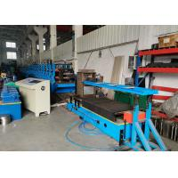 Quality New Type Self-locked / Self-seamed Box Beam Roll Forming Machine , Size Adjustable wholesale