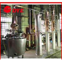 Quality red copper commercial alembic distillation equipment wholesale