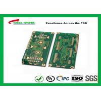 Quality Hard Drive Bare Quick Turn Printed Circuit Boards With 2l Fr4 Material 0.8mm Flash Gold 1oz wholesale