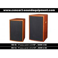 "Quality 400W Nightclub Sound System 1""+12"" Full Range Speaker For Pub , Karaoke , Conference wholesale"