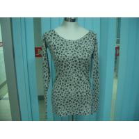 Quality Cotton Blends Ribbed Fashion Pullover Sweaters For Young Girls Full Stars Printing wholesale