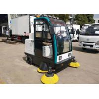 Quality New Mini Electric Mechanical Sweeper Truck Street Cleaning Aluminum Alloy Frame wholesale