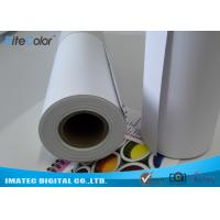 Quality Matte Printable PP Synthetic Paper , Polypropylene Paper Rolls For Dye Ink wholesale