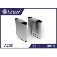 Quality A203 Flap Barrier Turnstile Security Automatic Ticket Checking System wholesale