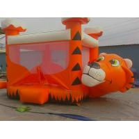 Quality Attractive durable indoor inflatable bouncy castle with mini jumping slide wholesale