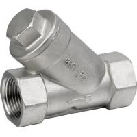 Quality 800psi Stainless Steel Threaded End Y Type Strainer Wye Strainer BSP NPT PT wholesale
