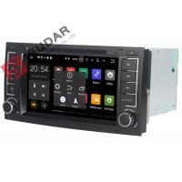Quality DAB+ Tuner Vw Touareg Dvd Player , Volkswagen Gps Stereo With Bluetooth Heat Dissipation wholesale