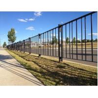 Quality Welded Feet Road Fence Barrier Steel Solid Structure Powder Coated Rust - Proof wholesale