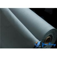 Quality Silicone Coated Fabric for Welding Blanket 0.8mm Gray Fireproof Fabric Roll wholesale