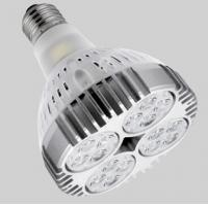 Quality High Lumen 30W Led Spot Lighting 60 Hz IP44 , 30 ° school Led Track Spot Light wholesale