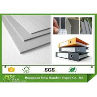 Quality Professional Hard Stiffness Gray Paperboard , Arch File Uncoated 2mm Greyboard wholesale