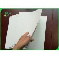Cheap 250 - 400g One Side Coated White Cardboard FBB Board For Handbags for sale