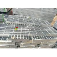 Quality Aiti - Slip Ladders Galvanized Stair Treads, Serrated Bar Grating Stair Treads wholesale