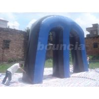 Quality Millennium Field Inflatable Paintball Bunker with Durable Plastic Ground Stakes wholesale