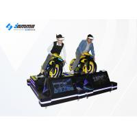 Quality Card Payment VR Motorcycle Simulator With 4 Multiplayer Games / VR Moto Game Machinie wholesale
