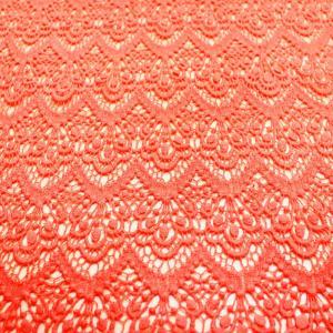 China 100% factory price beautiful design cotton lace fabric on sale
