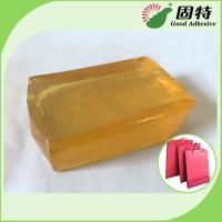 Buy cheap Polyolefin Light And Semi-Transparent Block Solid Hot Melt Glue For Making Paper from wholesalers
