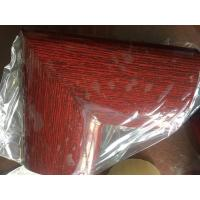45 Degree Aluminum Extrusion Parts Welding Handrail Wooden Color Surface For for sale