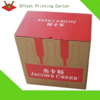 Cheap Paper material wine Package box professional facory for sale