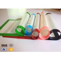 China Steamer Silicone Baking Liner Microwave Silicone Fiberglass Baking Mat on sale