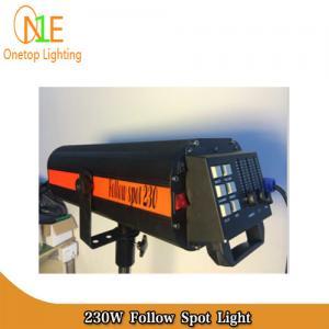 Quality High brightness electronic 7r 230w follow spot light DJ Stage Lighting Led Effect Light wholesale