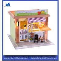 Quality Dollhouse Miniature Model Toy House Gift Educational Toy Craft Miniature C005 wholesale