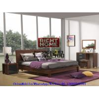 Quality 2016 New Nordic Design Modern Bedroom Furniture King size bed with Mirror Dresser and Side table wholesale