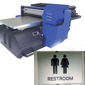 China UV Acrylic Digital Printing Machine Printing Size 32*56CM on sale