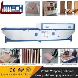 Quality PVC garage doors vacuum membrane press machine wholesale