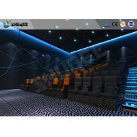 Quality Entertainment 4D Movie Theater With Special Effect Suitable For 15~50 Groups wholesale