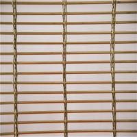 Quality Stainless Steel 316 Architectural Wire Mesh Panels For Blind Metal Drapery Wall wholesale