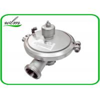 Quality Male Thread Sanitary Pressure Relief Valve , Stainless Steel Pressure Relief Valve wholesale