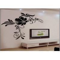 Quality Fashion Disposable Acrylic Removable Wall Decal Sticker Modern Style wholesale