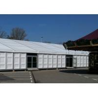 Quality 15m X 30m Heavy Duty Outdoor Tents Waterproof ABS Wall With Glass Door wholesale