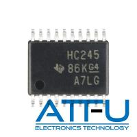 Quality SN74HC245PWR Octal Bus Transceiver Chip , 3 State Outputs Programmable Logic IC wholesale