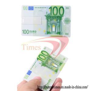 Quality Credit Card 4GB U Disk/USB Drive/Flash Stick with Money Card (C-USB309) wholesale