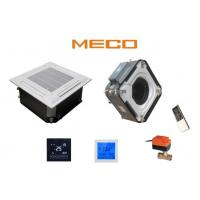 Quality Four Way Carrier Chilled Water Cassette , Indoor Fan Coil Unit 4TR Capacity 1600CFM wholesale