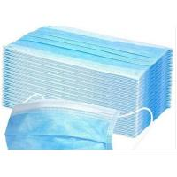 Quality Anti Pollution Disposable Earloop Face Mask Non Irritating Moisture Proof wholesale