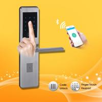 Quality Keyless Password Door Lock Touch screen first-rate long warranty contactlessly mifare card door lock wholesale
