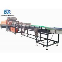 China Plc Control Bottle Packing Machine Shrink Wrap Equipment 0.7-0.9 Mpa on sale
